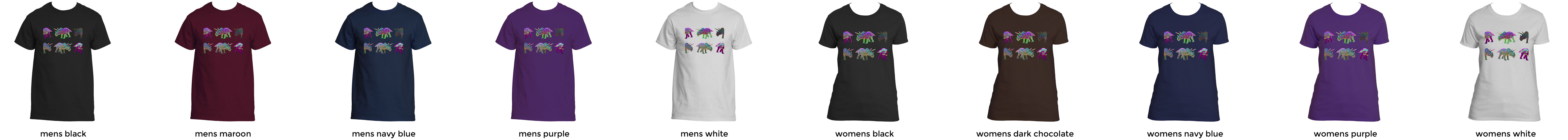 Trippy glitch art dinosaurs t shirt abduc tees color chart nvjuhfo Images